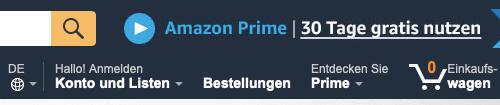 Amazon.de-Login